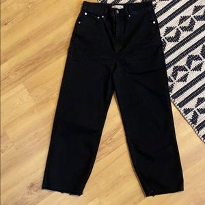 Slim Wide-Leg Jeans in Lunar Wash from Madewell